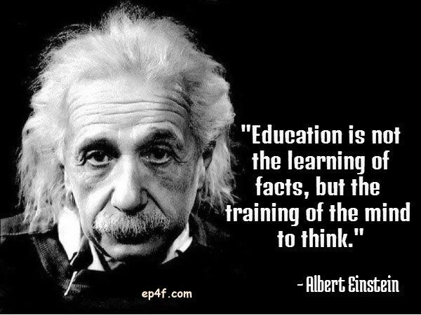 Education Is Not The Learning Of Facts Quotes Education Is Not The