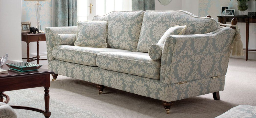 Captivating Fabric Patterned Sofas Printed Fabric Sofas ...