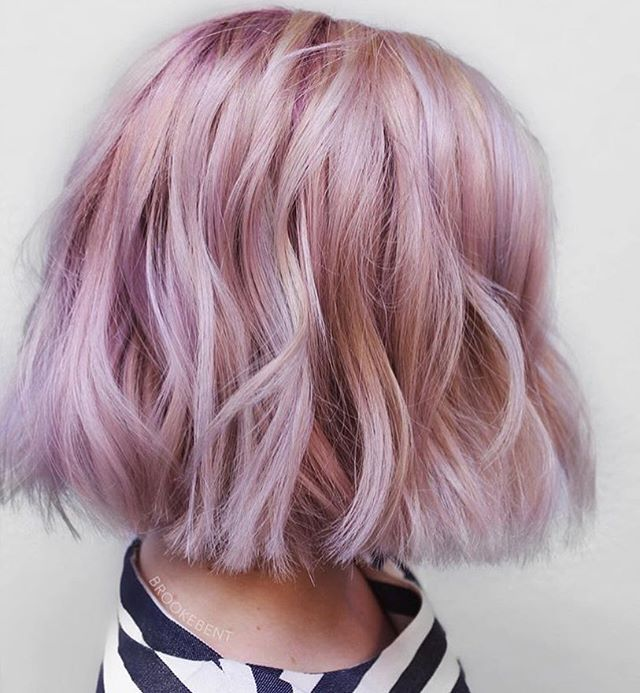 Blushsmokelilac By Artist Brookebent Pulp Riot Hair