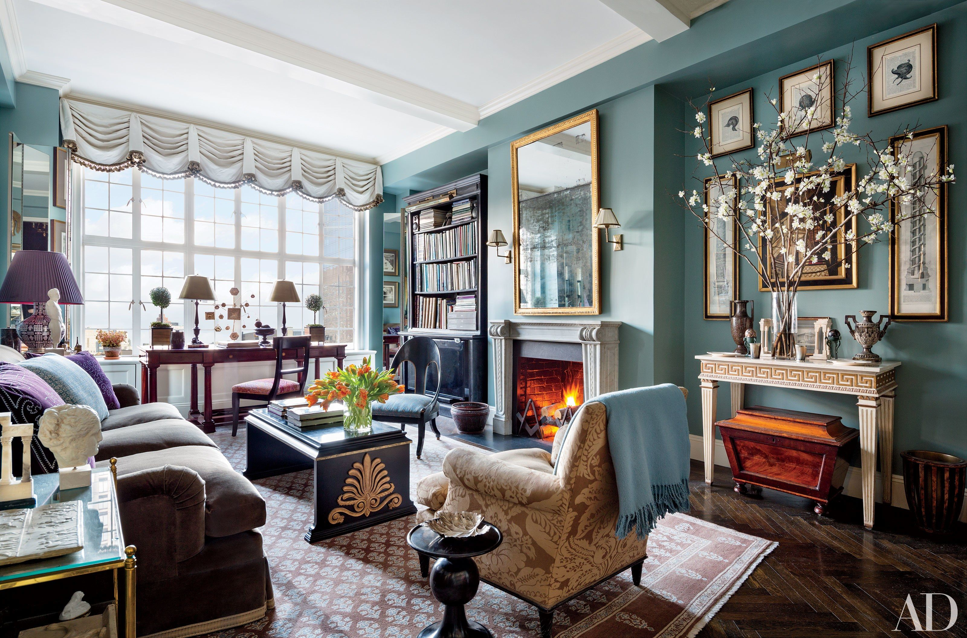 6 classic rooms by alexa hampton head of design firm mark hampton