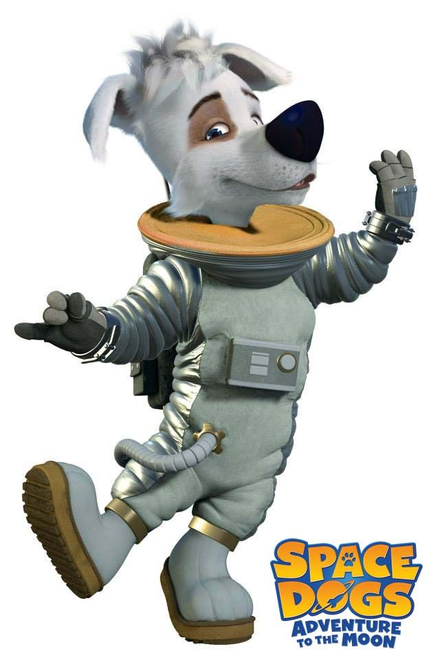 Pushok Is Here To Save The Day Spacedogs Space Dog Epic Pictures Animation Film