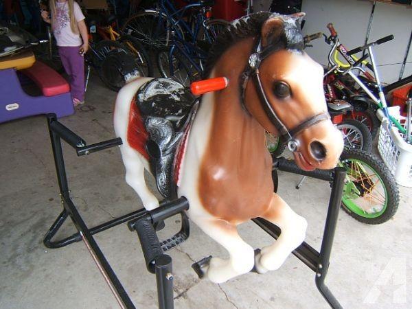 Hedstrom Spring Bouncy Ride On Horse Keizer For Sale