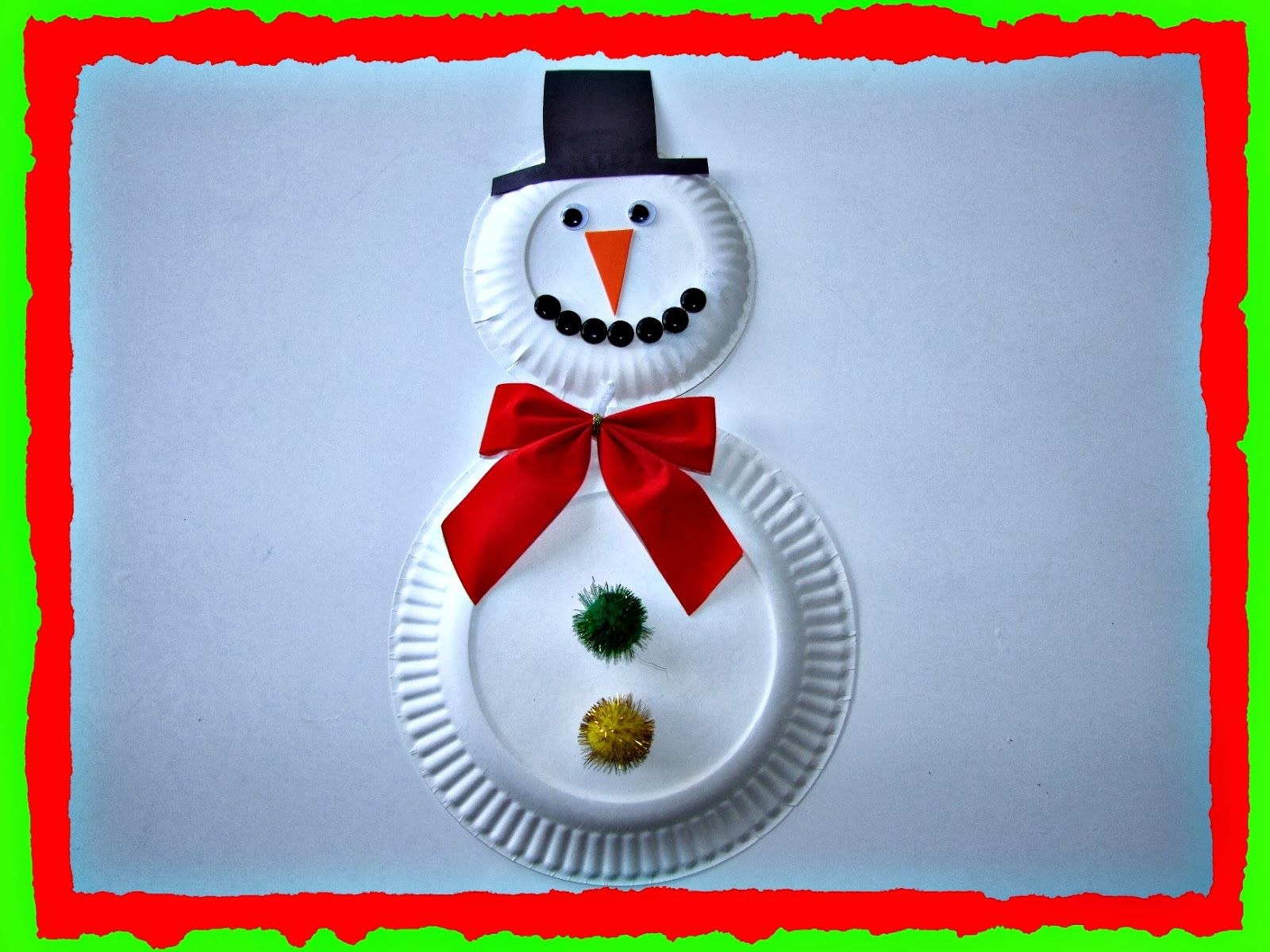 Christmas Projects For Kids How To Recycle Recycled Snowman Christmas Decor Christmas