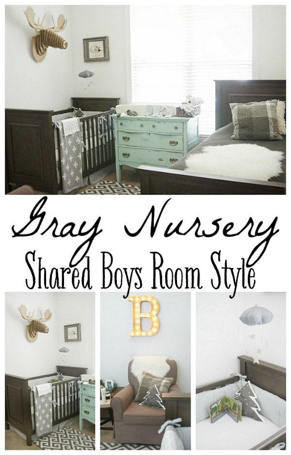Gray Nursery Reveal