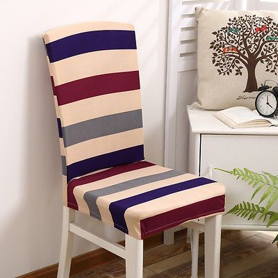 Removable Elastic Stretch Slipcovers Short Dining Room Chair Seat Cool Stretch Covers For Dining Room Chairs Decorating Inspiration