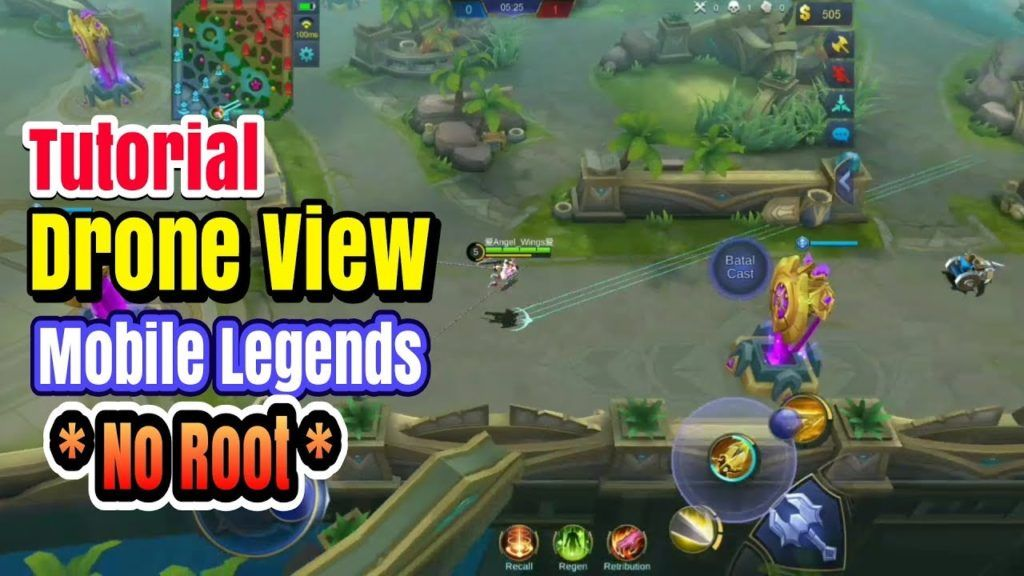 Tutorial Zom Out Drone View Mobile Legends No Root 100 Work Mobile Legends Drone Legend