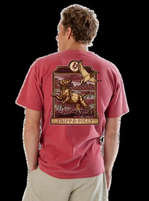 Find hunting dog tees and duck hunting dog shirts at Fripp