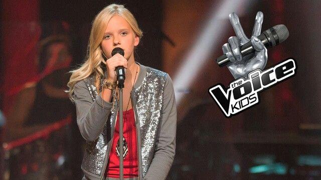Esmee Schreurs (13) uit Almelo. Finalist uit The Voice Kids 2016