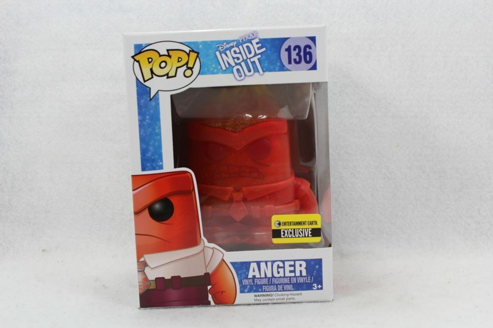 Vinyl Figure Crystal Anger Pop Inside Out