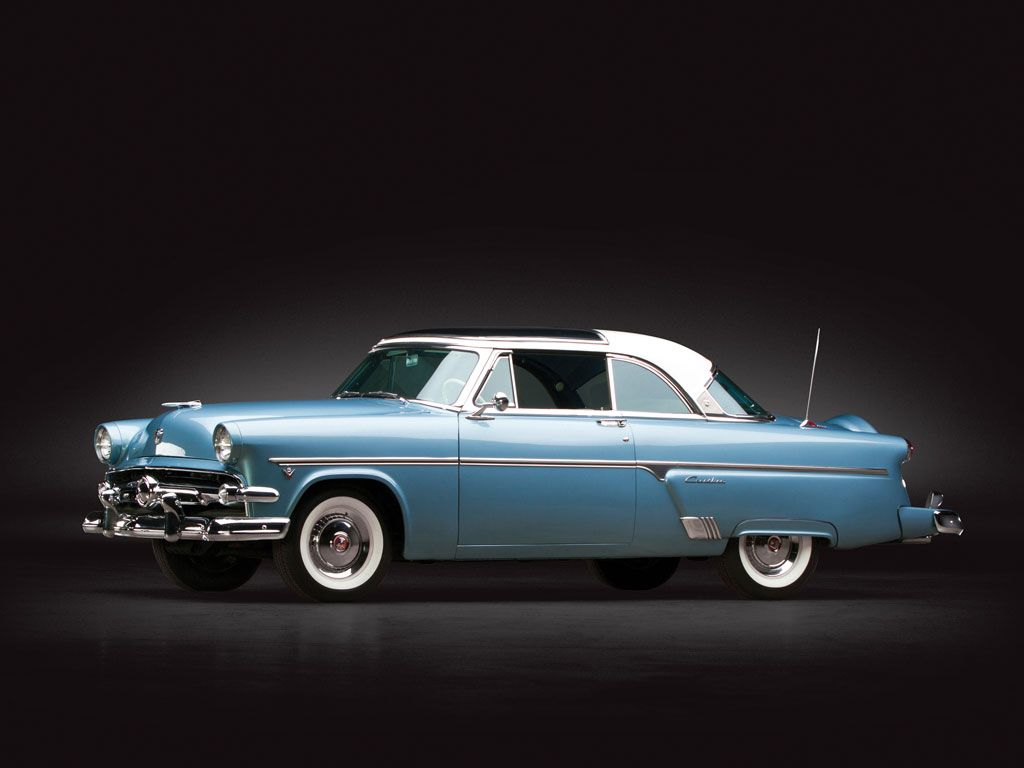 1954 Ford Crestline Skyliner Glass Top Sam Pack Collection 2014 Rm Auctions 1954 Ford Crestline Custom Cars Paint