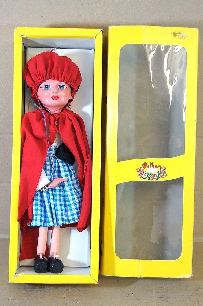 PELHAM PUPPETS SL LITTLE RED RIDING HOOD PUPPET MINT BOXED my