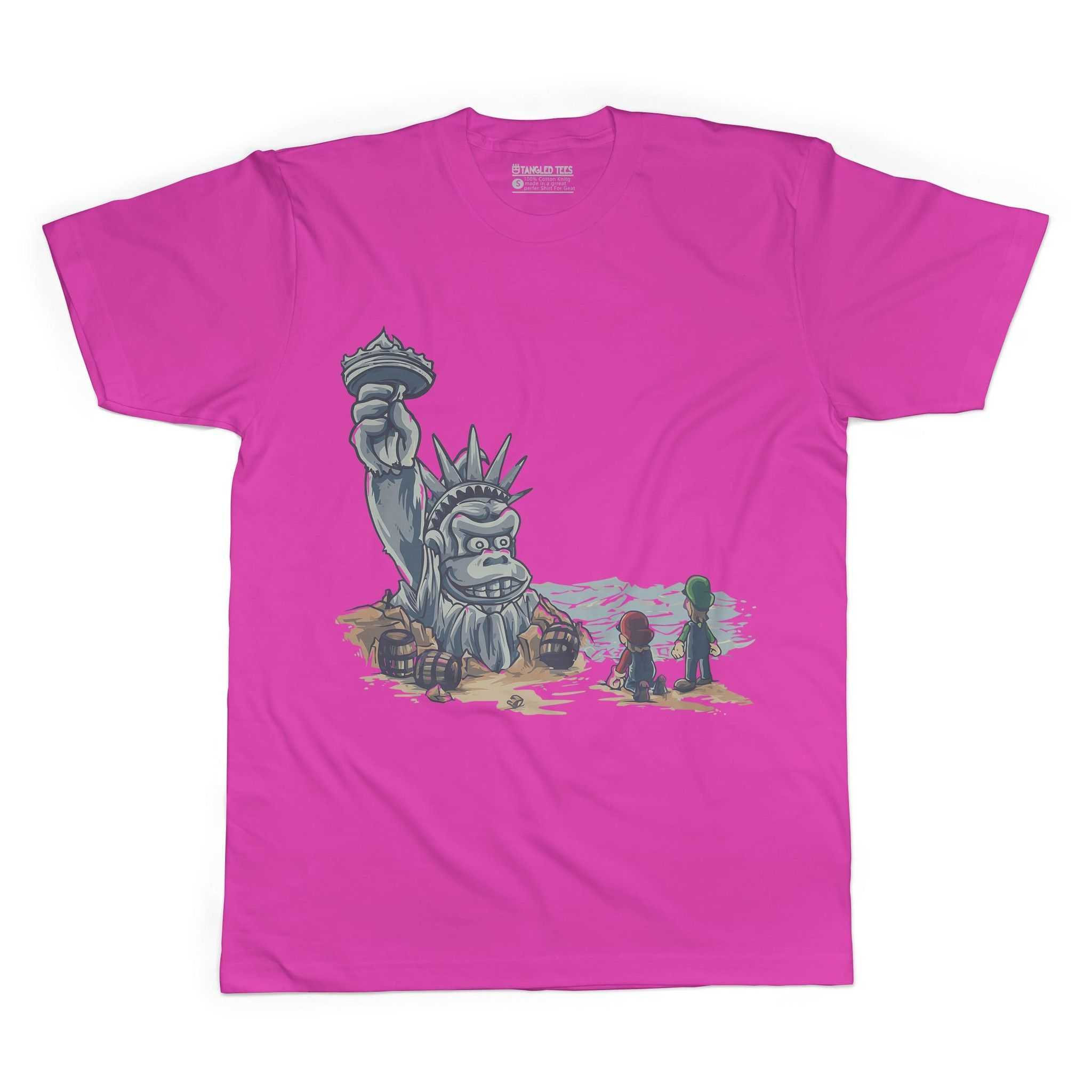 Planet Of The Ape Adult Tee Shirt