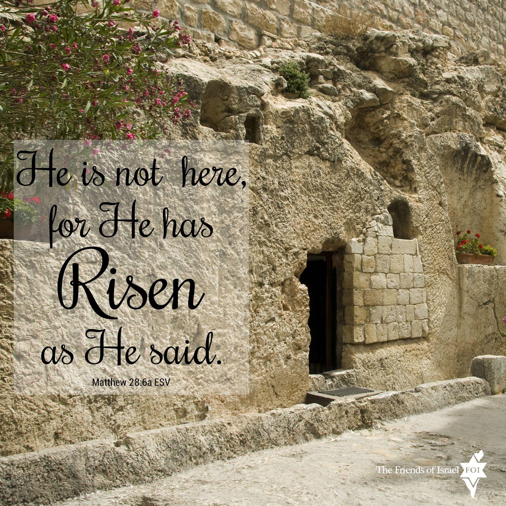 Matthew 28:6 Easter Garden Tomb #verse #inspiration #bible #words ...