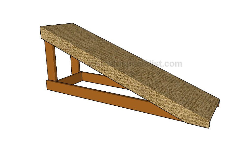 How To Build A Dog Ramp Dog Ramp Dog Ramp For Bed Dog