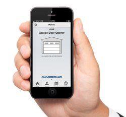 Control Your Garage Door With Your Smartphone Garage Doors Best Garage Door Opener Garage Door Opener App