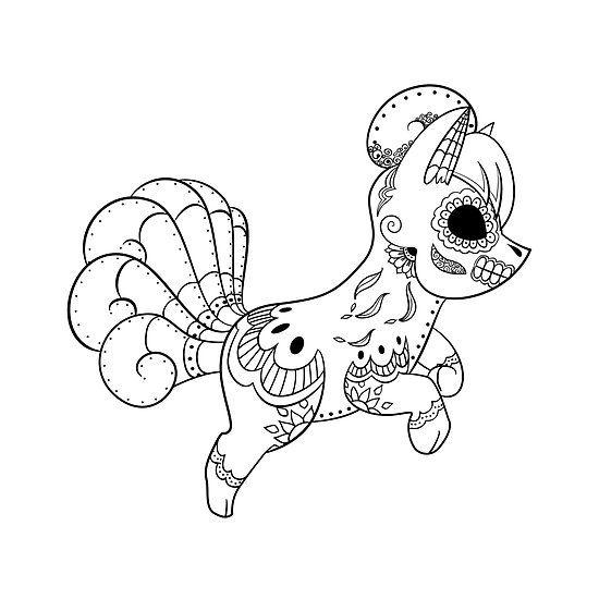 vulpix de los muertos pokemon day of the dead mashup colouring