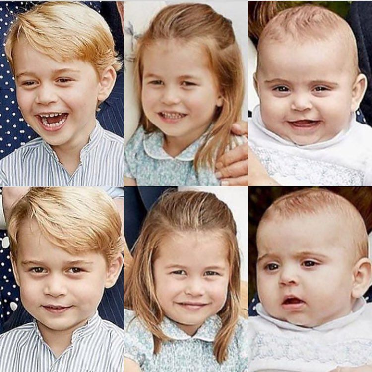 """British Royal Family On Instagram: """"As I Suspected, Little"""