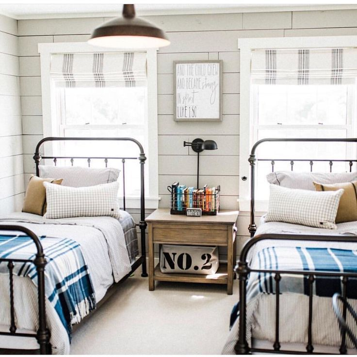 With Full Beds Shared Boys Room: Should Kids Share A Room? Teen Boy's Room, Twin Beds Boys