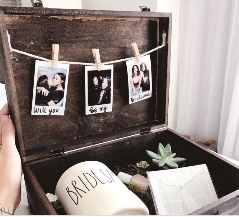 Thoughtful Wedding Gift Ideas: 5 Thoughtful Bridesmaid Proposal Ideas – Blush