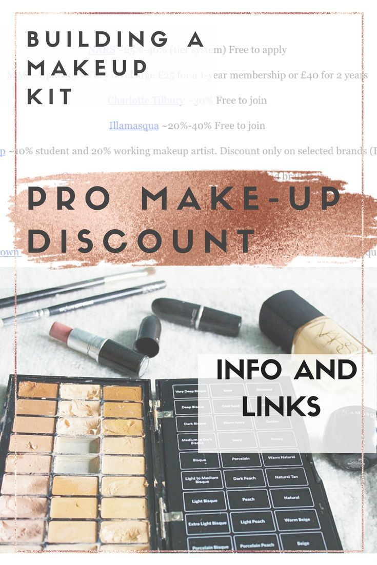How To Build A Pro Makeup Kit On A Budget. |