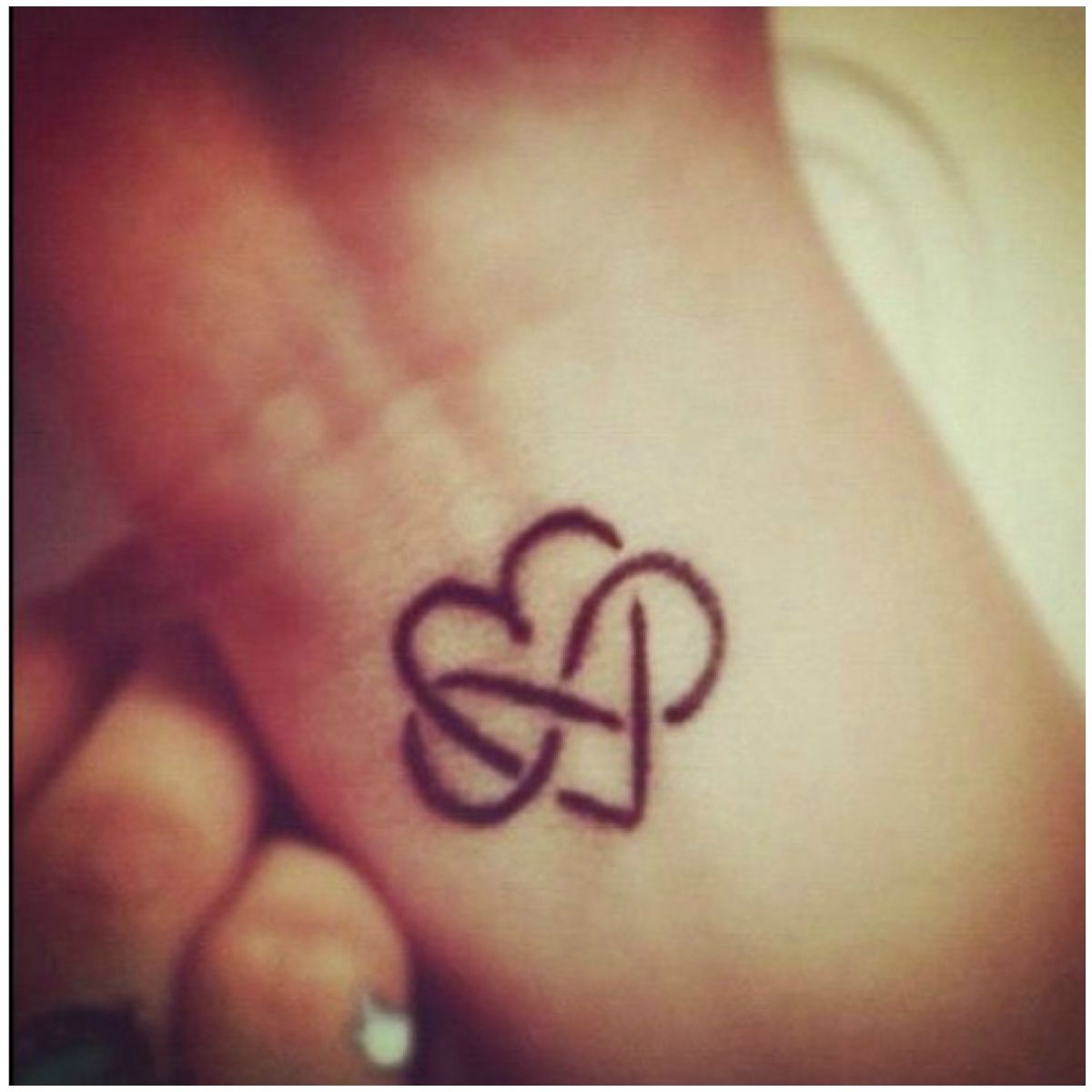 Simple infinity heart tattoo which i really like but id make it simple infinity heart tattoo which i really like but id make it smaller biocorpaavc Image collections