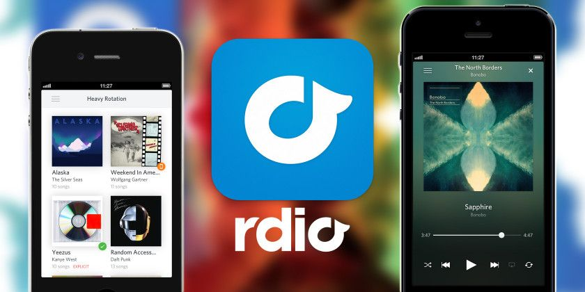 Rdio One of the Best Music Streaming Apps for iPhone