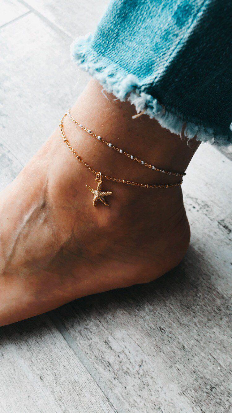 Argent Sterling 925 Bracelet Or Rose Chaîne Pied Femmes Bijoux Cadeaux Fashion New