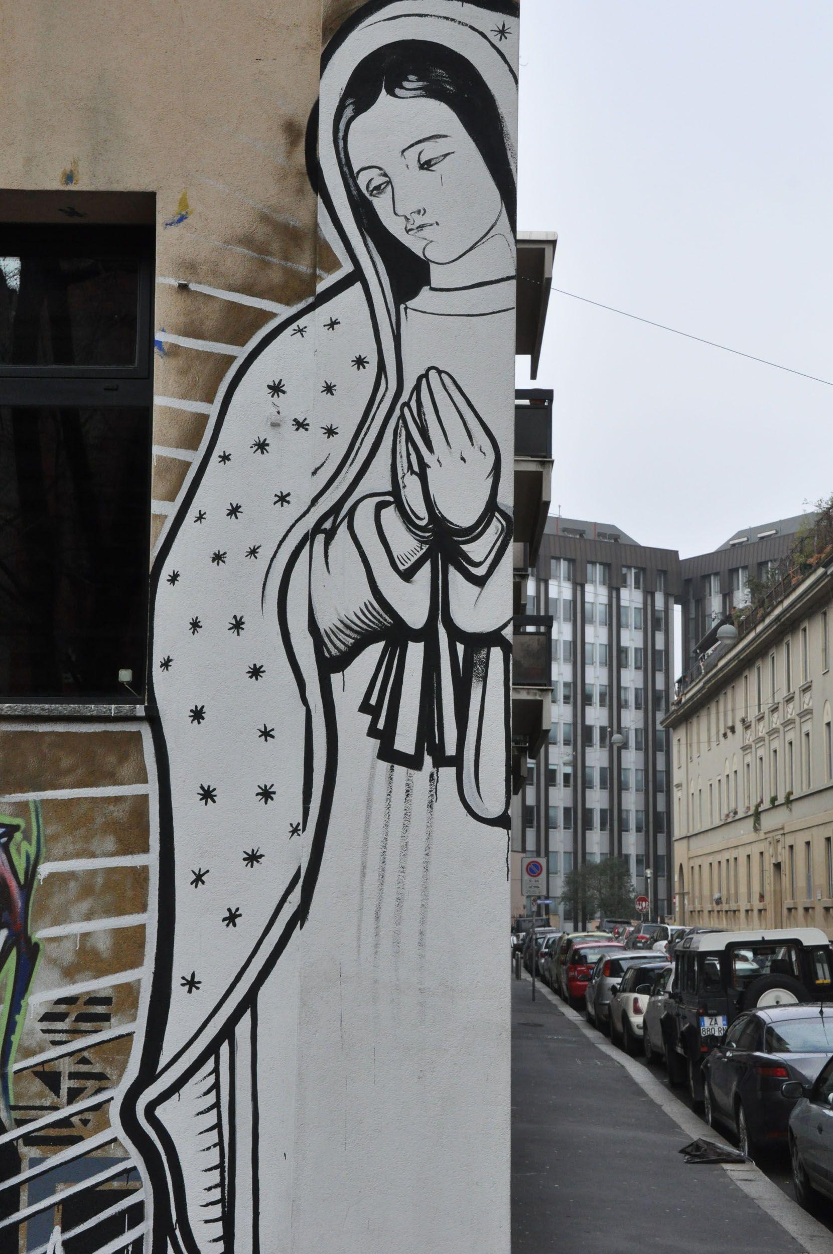 Street Art In Milan' Quartiere Isola Side Of Tracks Arttravarttrav
