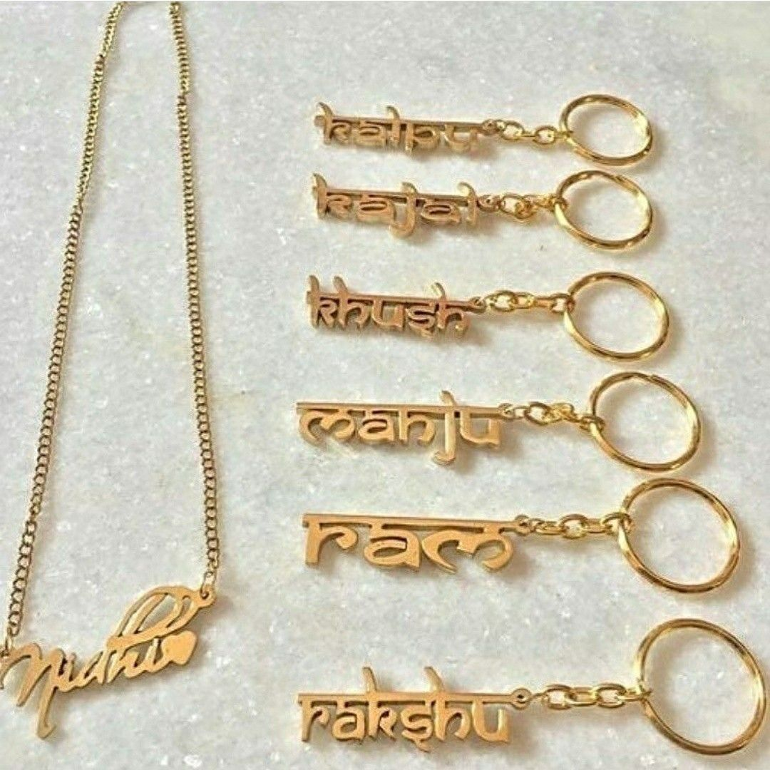 Personalised name pendants keychains bracelets available for just personalised name pendants keychains bracelets available for each for more enquiries dm or whatsapp us at aloadofball Gallery