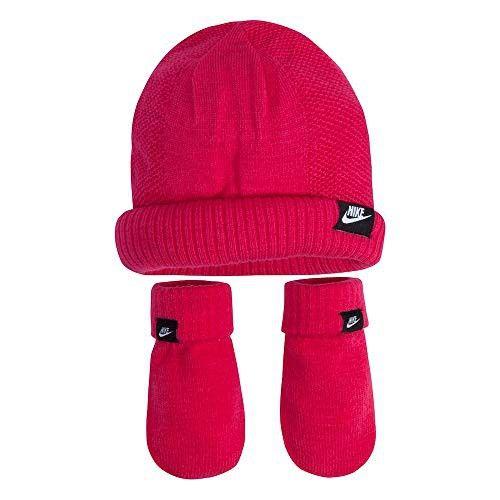 794aee0f6251b Nike Baby Girls  Knit Beanie   Mittens Set