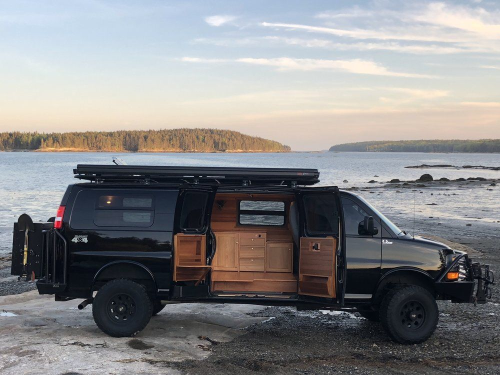 Jinx Chevy Express 3500 Extended Van Conversion Awol Adventure