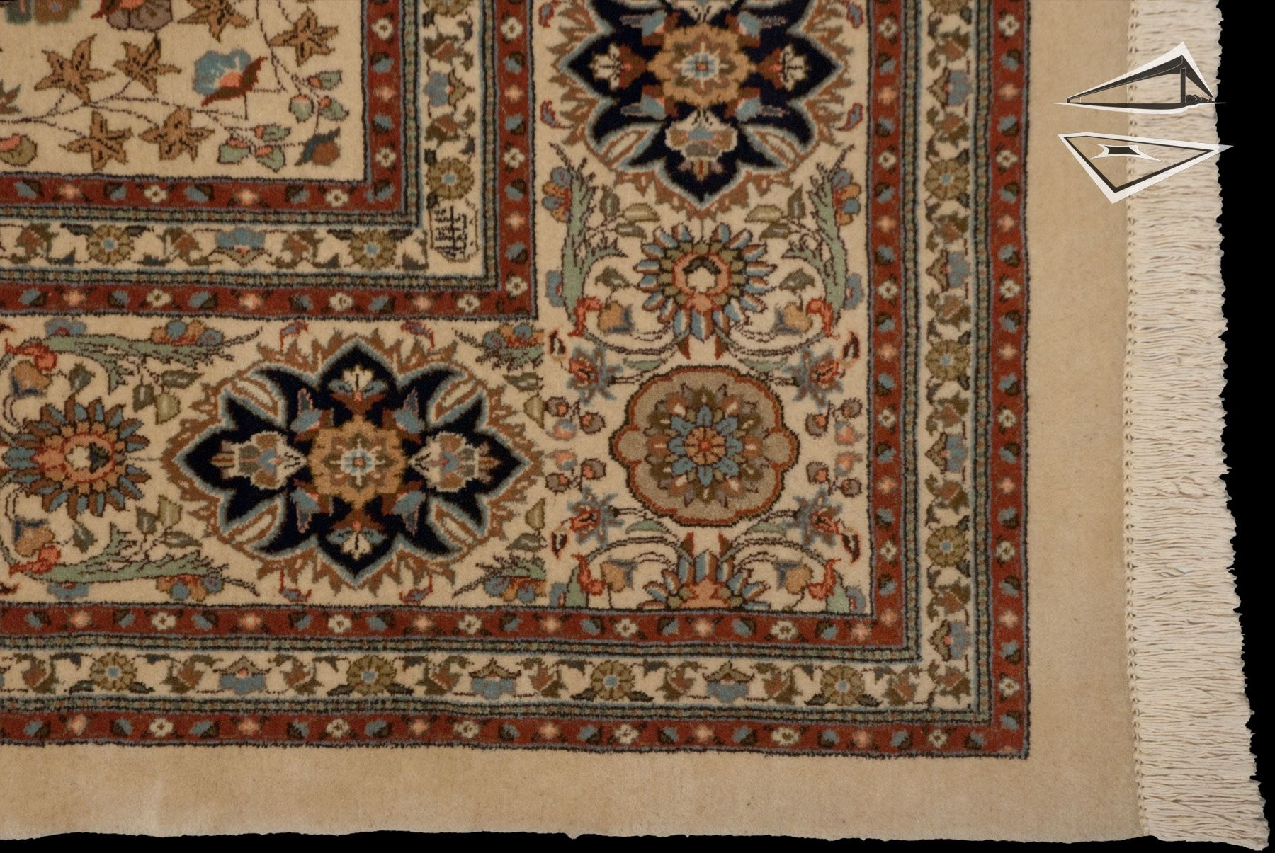 14 X 16 Area Rug Persian Tabriz Square See More Images For This