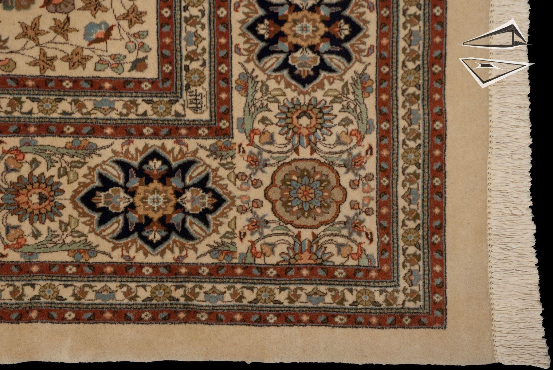 14 16 Persian Tabriz Square Rug Rugs Square Rugs Persian