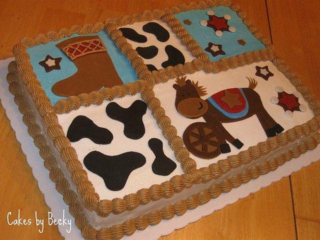 Little Cowboy Baby Shower Cake Cowboy Baby Shower Baby Shower