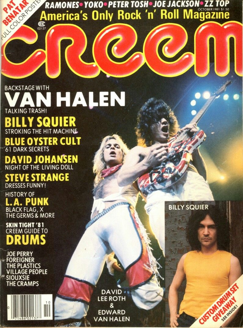 Pin By Rick Bozzo On Van Halen Magazine Covers Music Magazines Van Halen Squier