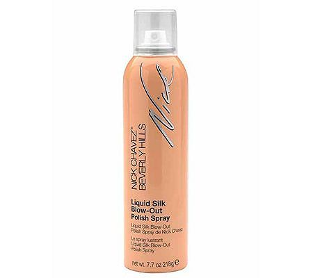 Nick Chavez Liquid Silk Blow-Out Polish Spray,7.7 oz — QVC.com #brazilianstraightening What is it: Nick's answer to the popular Brazilian straightening/smoothing products, designed to address the same issues. QVC.com
