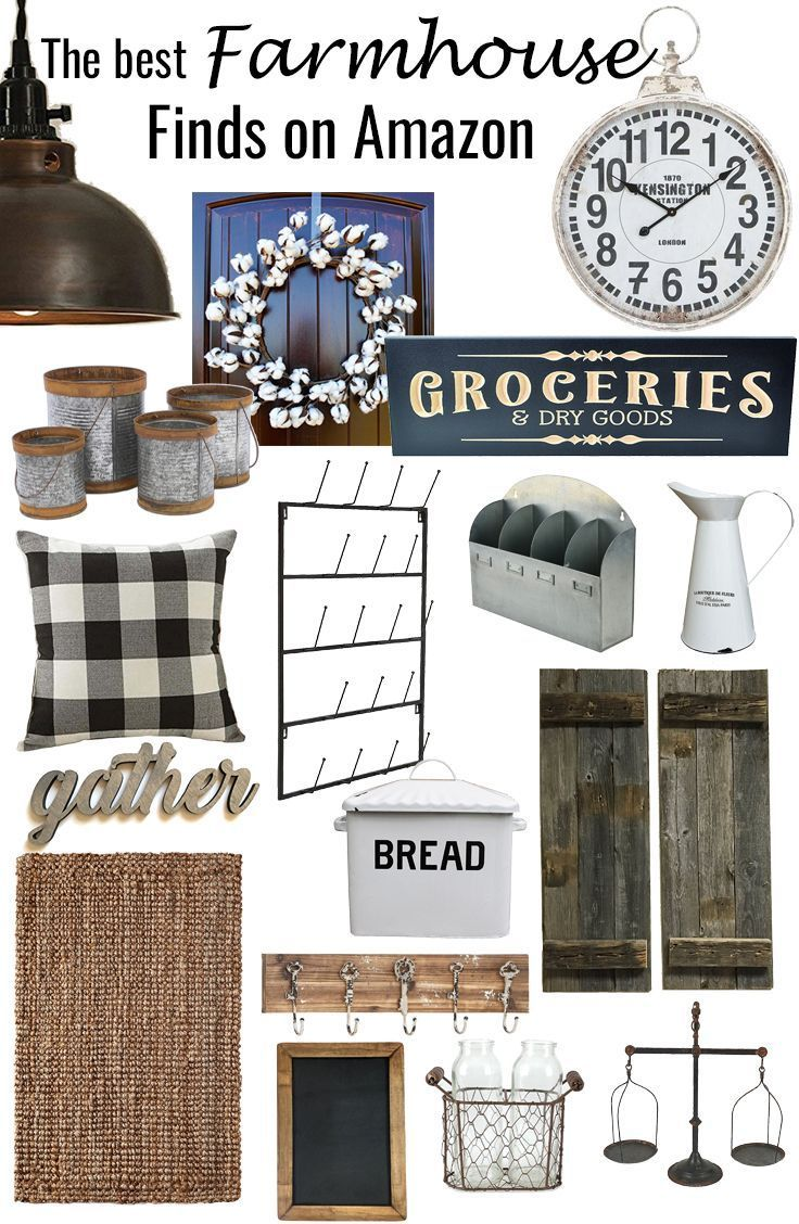 The Best Farmhouse Finds on Amazon images