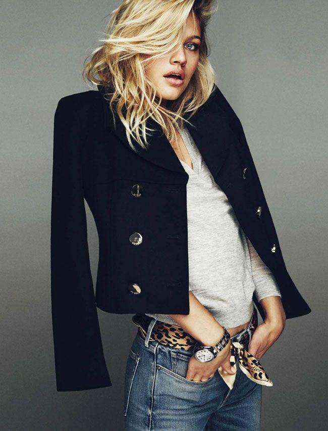 CAROLINE CORINTH FOR ELLE SPAIN DECEMBER 2015 | Fashion & Models