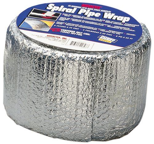Reflectix SPW0602508 6-Inch by 25-Feet Spiral Pipe Wrap