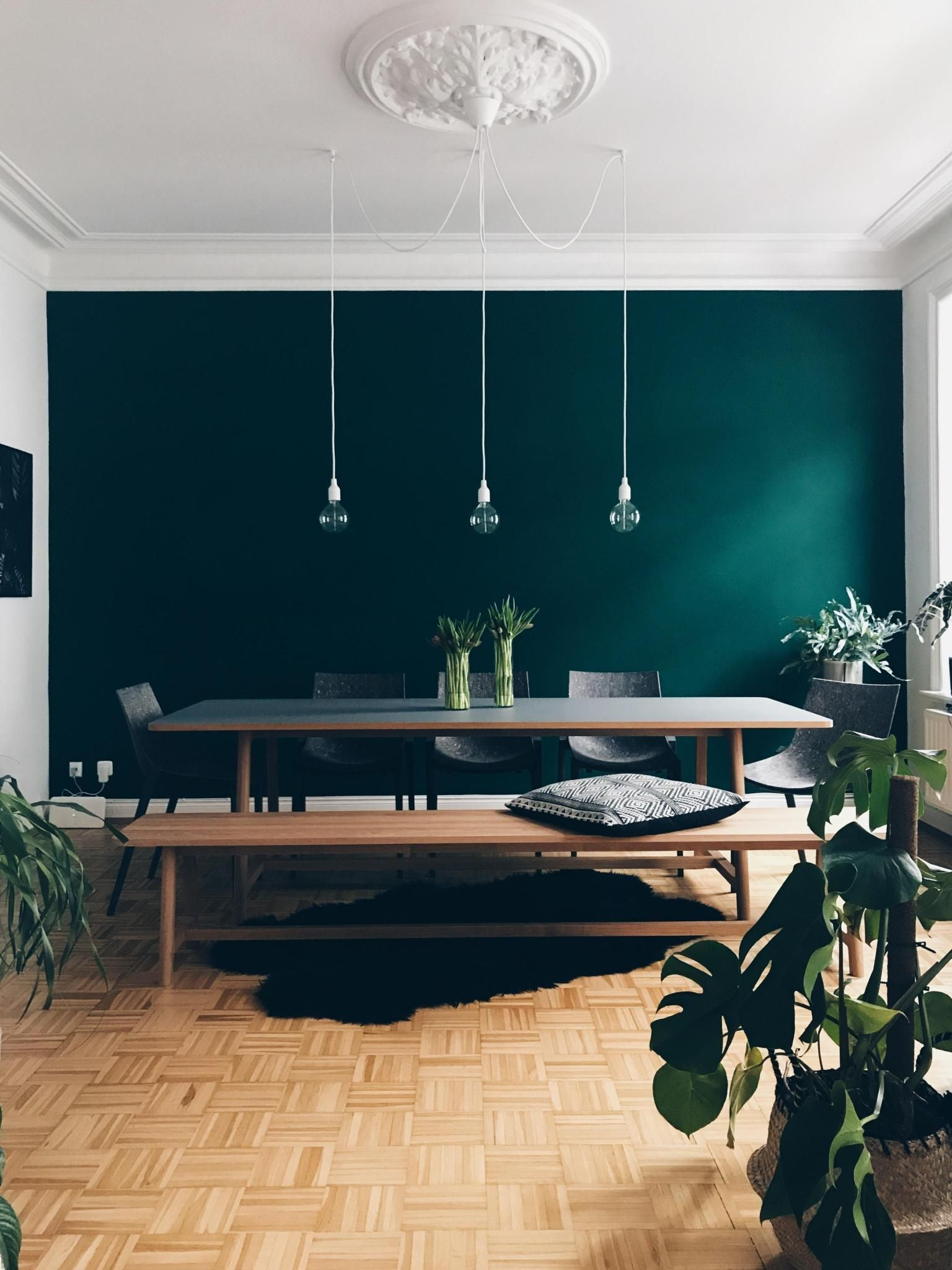 The Color Is Called Jagergrun Hunter Green By Schoner Wohnen Farbe Www Schoener Wohn Altbau Blumenliebe Decoration Diy Decoratio In 2020 Mit Bildern Schoner Wohnen Farbe