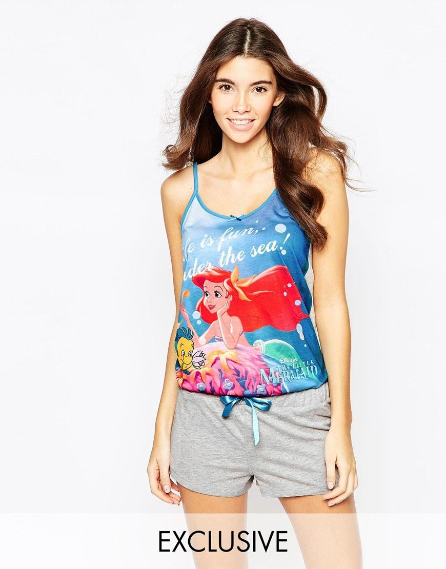 729aac005a62ab Missimo+Disney+Ariel+Playsuit | The Little Mermaid:) ❤ | Asos ...