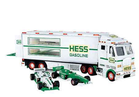 2003 Hess Toy Truck And Racecars Replica With Images Hess Toy Trucks Toy Trucks Hess