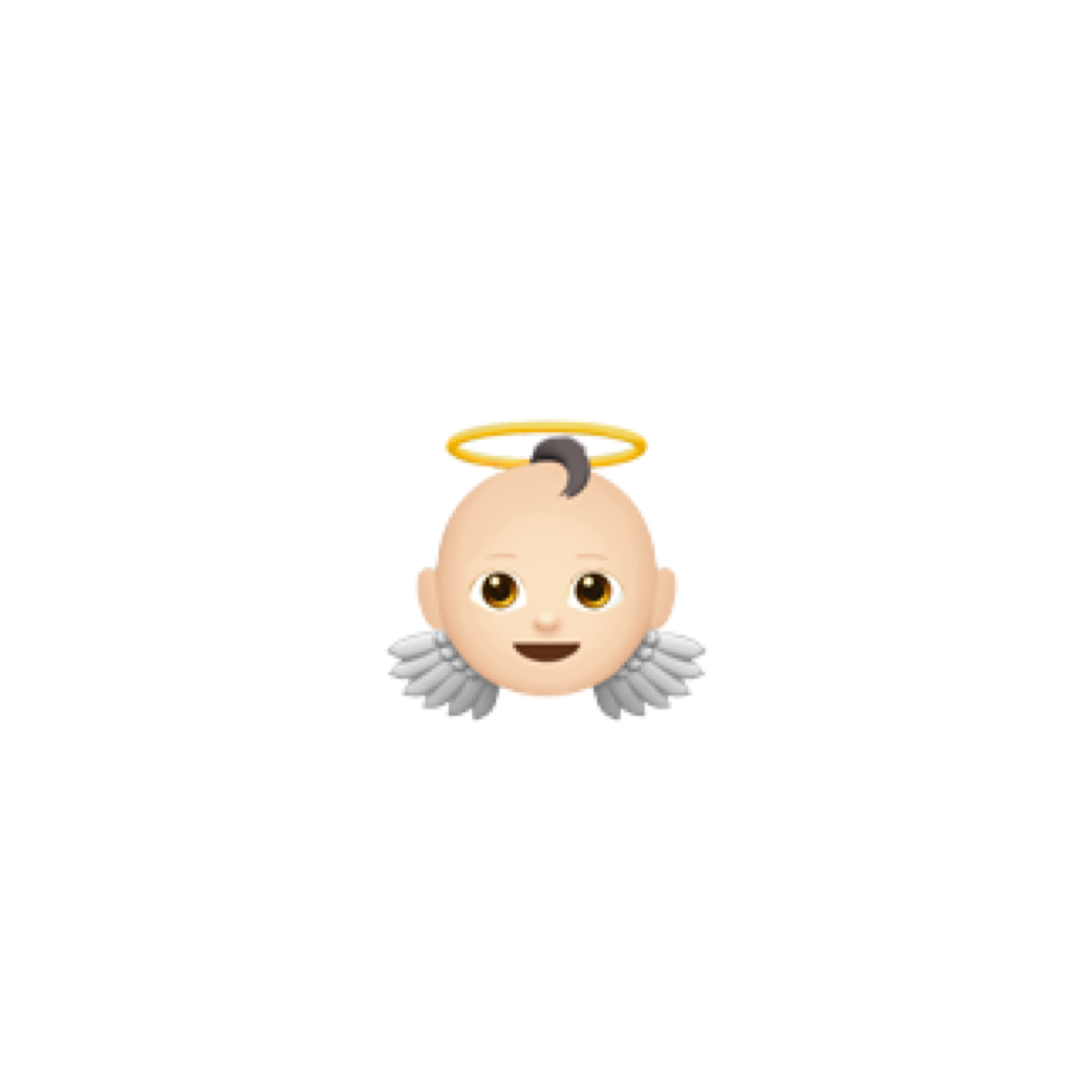 Emoji Baby Angel Png Picsart Ios Iphone Gravador De Tela Emojis Animal De Estimacao
