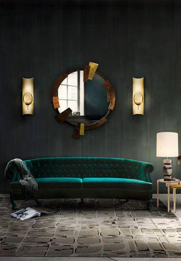 MAREE Samt Sofa | Wohndesign | Wohnzimmer Ideen | BRABBU |  Einrichtungsideen | Luxus Möbel | Wohnideen | Www.brabbu.com