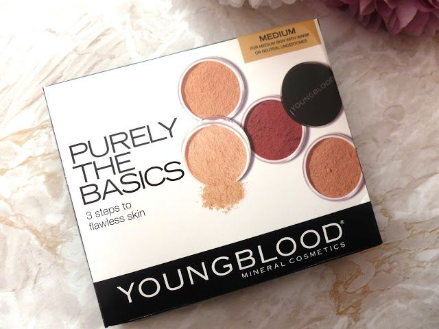 Mammaful Zo: Beauty, Fashion, Lifestyle: Youngblood Purely The Basics Mineral Cosmetics Kit - Medium