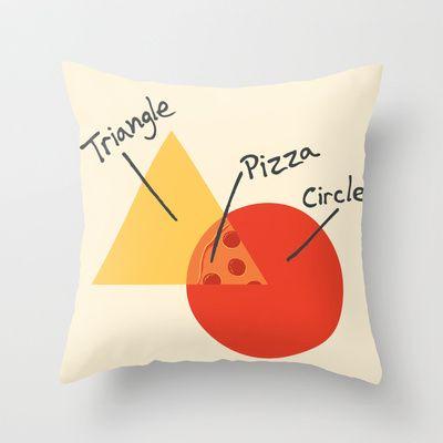 A College Venn Diagram Throw Pillow By Brandon Ortwein Available