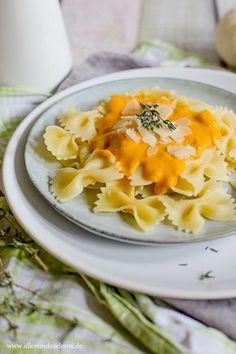 Photo of Fall recipe: Farfalle with pumpkin and thyme sauce