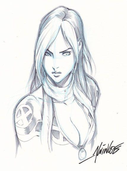 Rogue - X-Men - Alvin Lee Comic Art