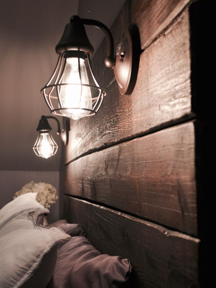Diy Headboards With Lights build a rustic wooden headboard | lisa s, bedrooms and diy headboards