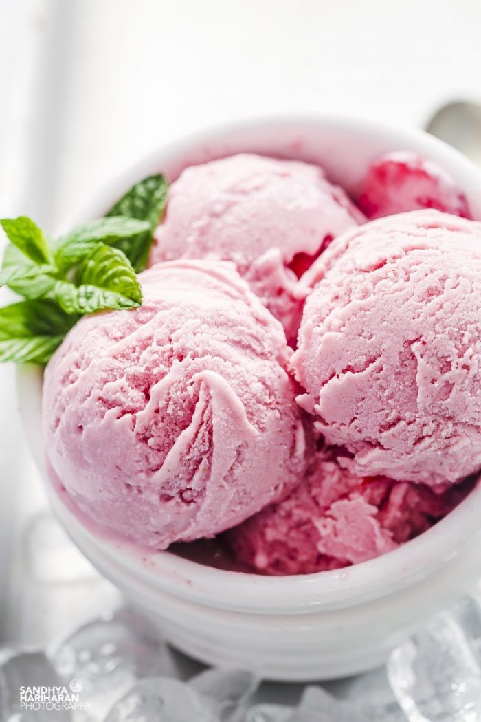 Healthy Strawberry Cheesecake Ice cream ( Low Calorie ) #cheesecakeicecream